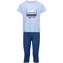 Abbigliamento Unisex bambino Completo Diadora 102175918 Blu