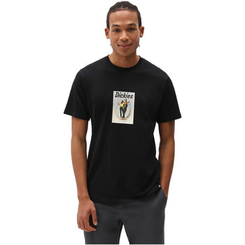Abbigliamento Uomo T-shirt maniche corte Dickies DK0A4X9IBLK1 Nero
