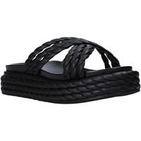 Scarpe Donna Ciabatte Grace Shoes 136T015 Nero