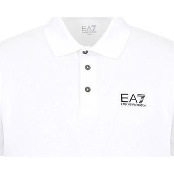 Abbigliamento Uomo Polo maniche corte Ea7 Emporio Armani 8NPF04 PJM5Z Bianco