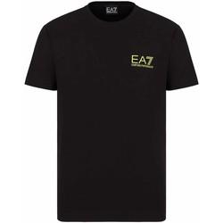 Abbigliamento Uomo T-shirt maniche corte Ea7 Emporio Armani 3KPT06 PJ03Z Nero