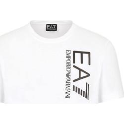 Abbigliamento Uomo T-shirt maniche corte Ea7 Emporio Armani 3KPT10 PJ7RZ Bianco