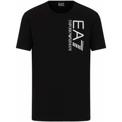 Abbigliamento Uomo T-shirt maniche corte Ea7 Emporio Armani 3KPT10 PJ7RZ Nero