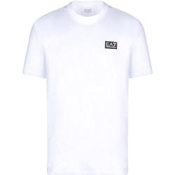 Abbigliamento Uomo T-shirt maniche corte Ea7 Emporio Armani 3KPT63 PJ6EZ Bianco