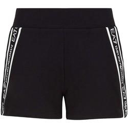 Abbigliamento Donna Shorts / Bermuda Ea7 Emporio Armani 3KTS59 TJ5FZ Nero