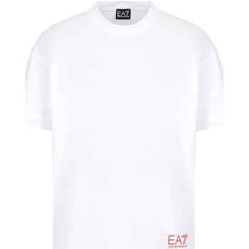 Abbigliamento Uomo T-shirt maniche corte Ea7 Emporio Armani 3KPT58 PJ02Z Bianco