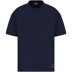 Abbigliamento Uomo T-shirt maniche corte Ea7 Emporio Armani 3KPT58 PJ02Z Blu