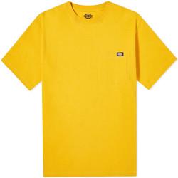 Abbigliamento Uomo T-shirt maniche corte Dickies DK0A4TMOB591 Giallo
