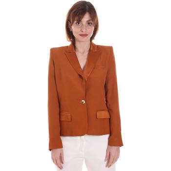 Abbigliamento Donna Giacche / Blazer Cristinaeffe 0306 2545 Marrone