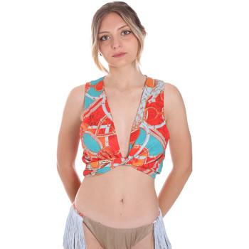 Abbigliamento Donna Top / T-shirt senza maniche F * * K  Arancio