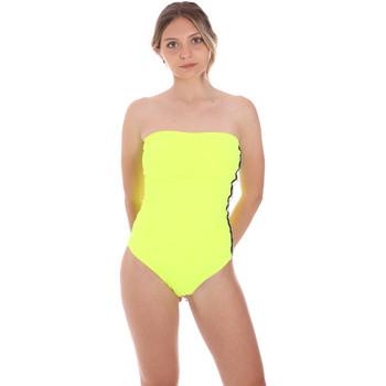 Abbigliamento Donna Costume intero F * * K  Giallo