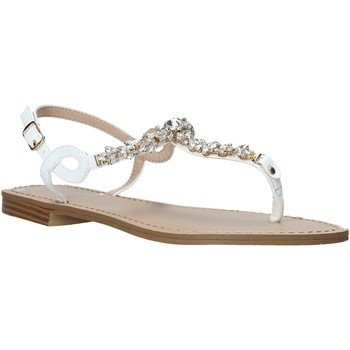 Scarpe Donna Sandali Keys K-5100 Bianco