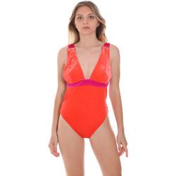 Abbigliamento Donna Costume intero F * * K  Arancio