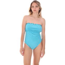 Abbigliamento Donna Costume intero F * * K  Blu
