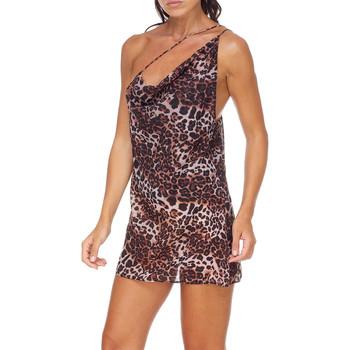 Abbigliamento Donna Abiti corti Me Fui M20-0456X1 Marrone