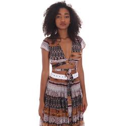 Abbigliamento Donna Top / Blusa Me Fui M20-0051X1 Marrone