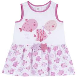 Abbigliamento Bambina Abiti corti Chicco 09003813000000 Bianco