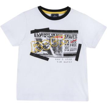 Abbigliamento Unisex bambino T-shirt maniche corte Chicco 09067290000000 Bianco