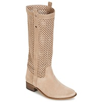 Scarpe Donna Stivali Betty London DIVOUI Beige