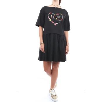Abbigliamento Donna Abiti corti Love Moschino W5B00-02-M3876 Corti Donna Black Black