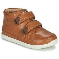 Scarpe Unisex bambino Sneakers alte Shoo Pom CUPY SCRATCH Marrone