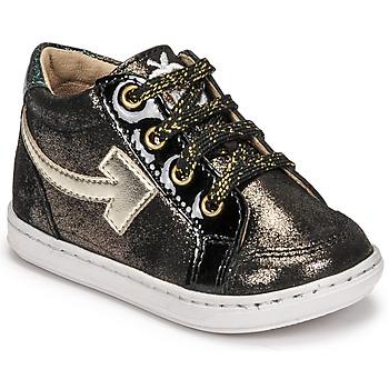 Scarpe Bambina Sneakers alte Shoo Pom BOUBA ARROW Nero