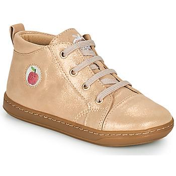 Scarpe Bambina Sneakers alte Shoo Pom BOUBA ZIP LACE Rosa