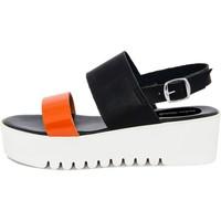 Scarpe Donna Sandali Fashion Attitude  Arancio