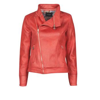 Abbigliamento Donna Giacca in cuoio / simil cuoio Desigual MARBLE Rosso