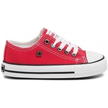 Scarpe Unisex bambino Sneakers basse Big Star FF374201 Rosso