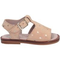 Scarpe Bambina Sandali Cucada 4115AC BEIG-820 Sandalo Bambina BEIGE BEIGE