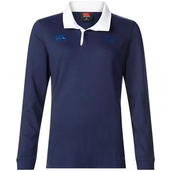 Abbigliamento Donna Polo maniche lunghe Canterbury E64CJ01 Blu