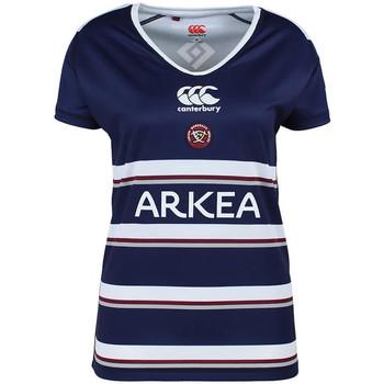 Abbigliamento Donna T-shirt maniche corte Canterbury E64RE01 Blu