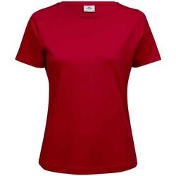 Abbigliamento Donna T-shirt maniche corte Tee Jays T580 Rosso