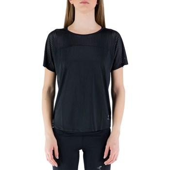 Abbigliamento Donna T-shirt maniche corte Energetics 411888 Maniche Corte Donna Nero Nero