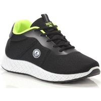 Scarpe Uomo Sneakers basse Navy Sail Brave Black FL Yellow Nero
