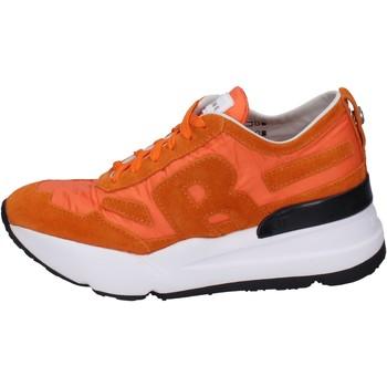 Scarpe Donna Sneakers basse Rucoline BH360 Arancione