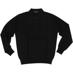 Abbigliamento Uomo Polo maniche lunghe Ferrante ATRMPN-27880 Nero