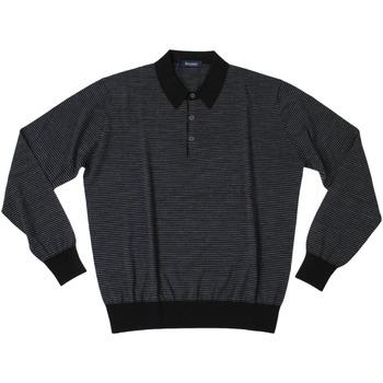 Abbigliamento Uomo Polo maniche lunghe Ferrante ATRMPN-27885 Nero