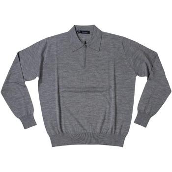 Abbigliamento Uomo Polo maniche lunghe Ferrante ATRMPN-27897 Grigio