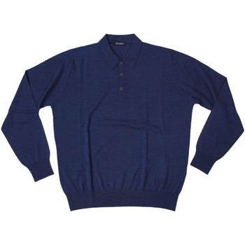 Abbigliamento Uomo Polo maniche lunghe Ferrante ATRMPN-27898 Blu