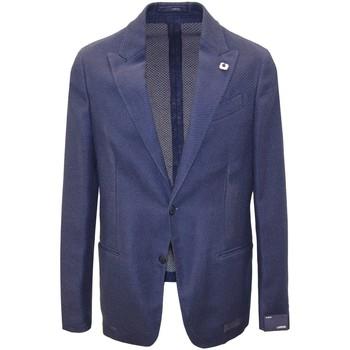 Abbigliamento Uomo Giacche Lardini  Blu
