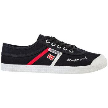 Scarpe Uomo Sneakers basse Kawasaki FOOTWEAR - Signature canvas shoe - black Nero