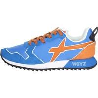 Scarpe Uomo Sneakers basse W6yz 0012013560.01. AZZURRO