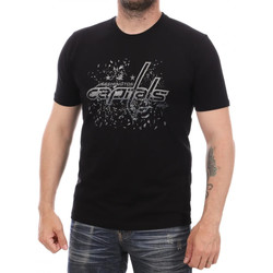 Abbigliamento Uomo T-shirt maniche corte Fanatics 1878MBLK7HWWCA Nero