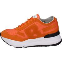 Scarpe Uomo Sneakers basse Rucoline BH388 Arancione