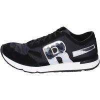 Scarpe Uomo Sneakers basse Rucoline BH395 Nero