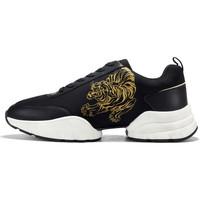 Scarpe Uomo Sneakers basse Ed Hardy - Caged runner tiger black-gold Nero
