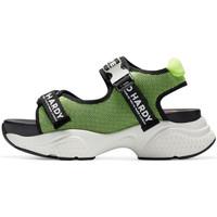 Scarpe Donna Sandali sport Ed Hardy - Aqua sandal green-black Verde