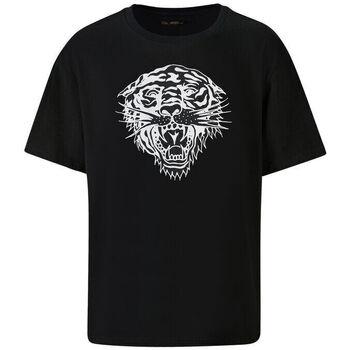 Abbigliamento Uomo T-shirt maniche corte Ed Hardy - Tiger-glow t-shirt black Nero